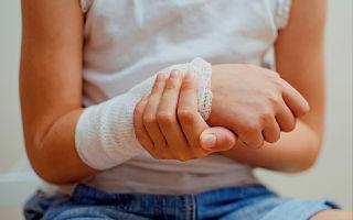 Переломы костей у детей, их особенности и лечение