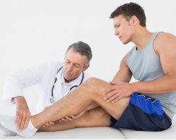 Вывих ноги — что делать, его симптомы и лечение